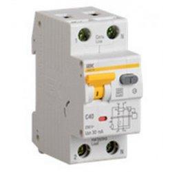 IEK АВДТ 32 2P С40 дифф. автоматический выключатель 30мА 2мод. 6кА MAD22-5-040-C-30