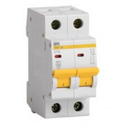 IEK автоматический выкл. ВА47-29 2P 63А 4,5кА х-ка С MVA20-2-063-C