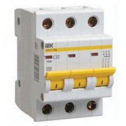 IEK автоматический выкл. ВА47-29 3P 32А 4,5кА х-ка С MVA20-3-032-C