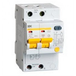 IEK АД12 диф. автомат 2P С25А 30мА MAD10-2-025-C-030
