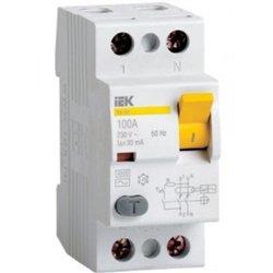 IEK ВД1-63 2P устройство защитного отключения УЗО 63А 30мА MDV10-2-063-030