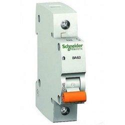 Schneider Domovoy автоматический выкл. ВА63 1P 32А 4,5кА х-ка C 11206
