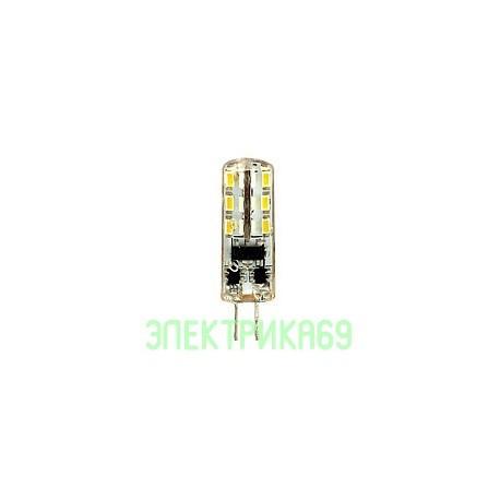 ASD G4 12V 1.5W(120lm) 3000К 2K 34х9 силикон