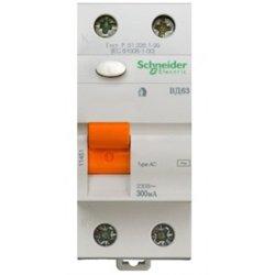 Schneider Domovoy ВД63 2P устройство защитного отключения УЗО 16А 10мА АС 11454
