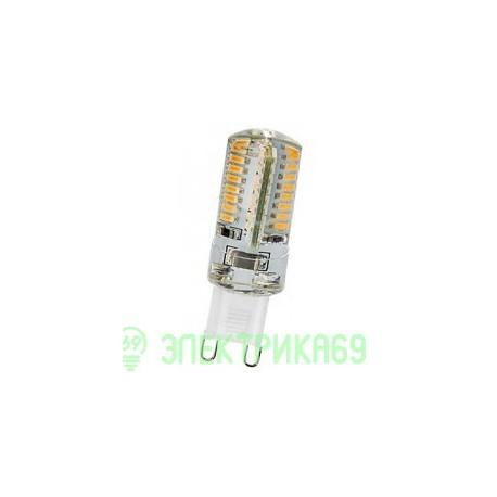 ASD G9 220V 3W(250lm) 4000К 4K 49x15 силикон