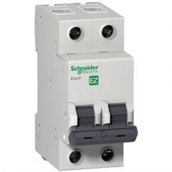 Schneider EASY 9 автоматический выкл. 2P 10А 4,5кА х-ка С 230В EZ9F34210