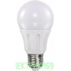 ASD ЛОН A60 E27 7W(600lm) 4000К 4K 110x60 пластик/алюм