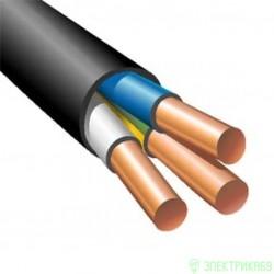 Кабель ВВГнг-LS 3х6пл кр 100м (ГОСТ)  (Кабэкс)ш сил. черн. медн. пл. нег. пониж газ дв. из.