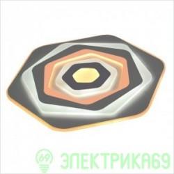 LEEK BIONIKA управляемый св-к-люстра св/д 120W(10500lm) 3K-4K-6K d500x50, Rainbow пульт ДУ 018