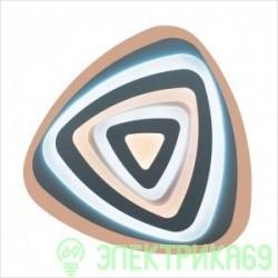 LEEK BIONIKA управляемый св-к-люстра св/д 120W(10500lm) 3K-4K-6K d520x50, Amber пульт ДУ 017