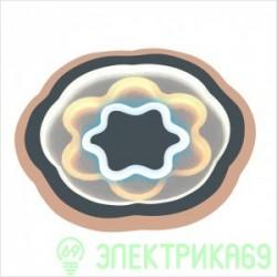 LEEK BIONIKA управляемый св-к-люстра св/д 120W(10500lm) 3K-4K-6K d530x50, Daisy пульт ДУ 016