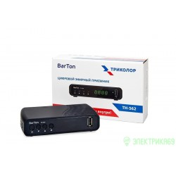 Цифровой эфирный приемник BarTon TH-562