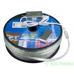 Лента св/д 220V MVS-5050, 30LED/м 7.2W/м RGB IP68 Jazzway 1002518