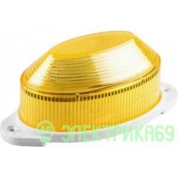 Feron Cветильник-вспышка (строб) 18LED 1,3W 220V желтый IP54 112x55x50 STLB01 29898