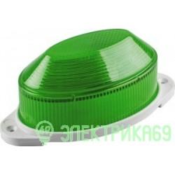 Feron Cветильник-вспышка (строб) 18LED 1,3W 220V зеленый IP54 112x55x50 STLB01 29897