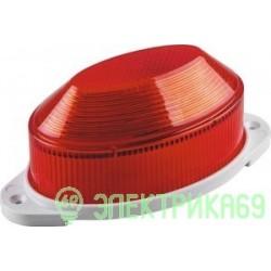 Feron Cветильник-вспышка (строб) 18LED 1,3W 220V красный IP54 112x50x55 STLB01 29895