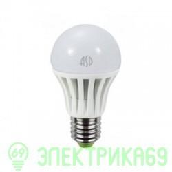 ASD ЛОН A60 E27 15W(1200lm) 3000К 2K 111x62 пластик/алюм