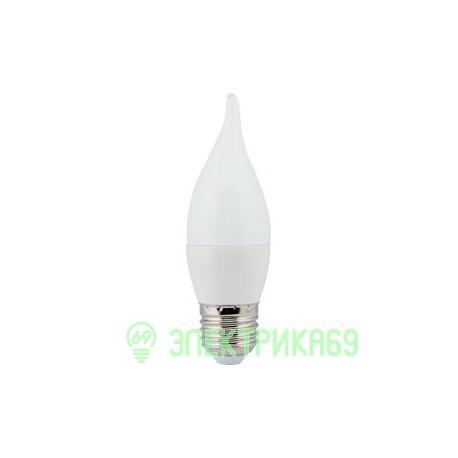 Ecola свеча на ветру E27 7W 2700 2K 120x37 пласт./алюм. C7YW70ELC